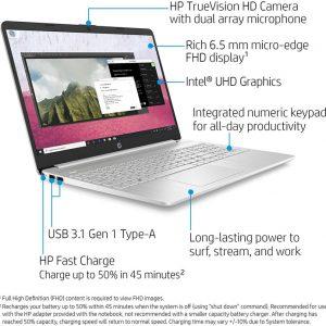 HP 15-Inch FHD Laptop